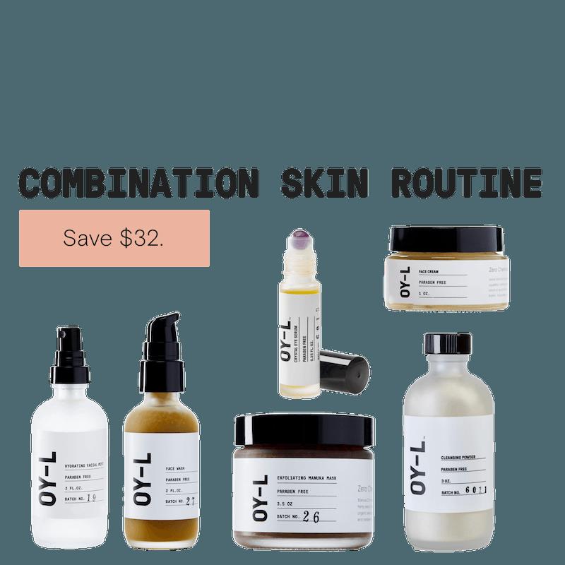 Combination Skin Routine