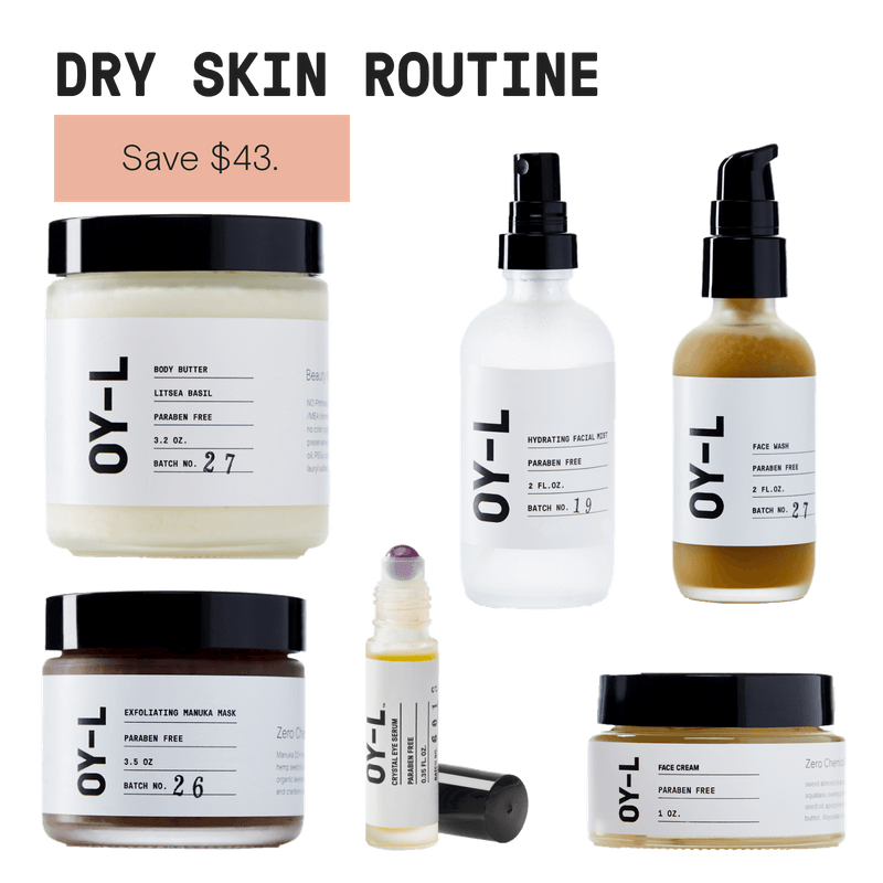Dry Skin Routine by OY-L Natural Skincare