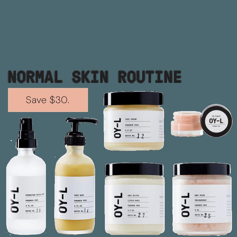 Normal Skin Routine