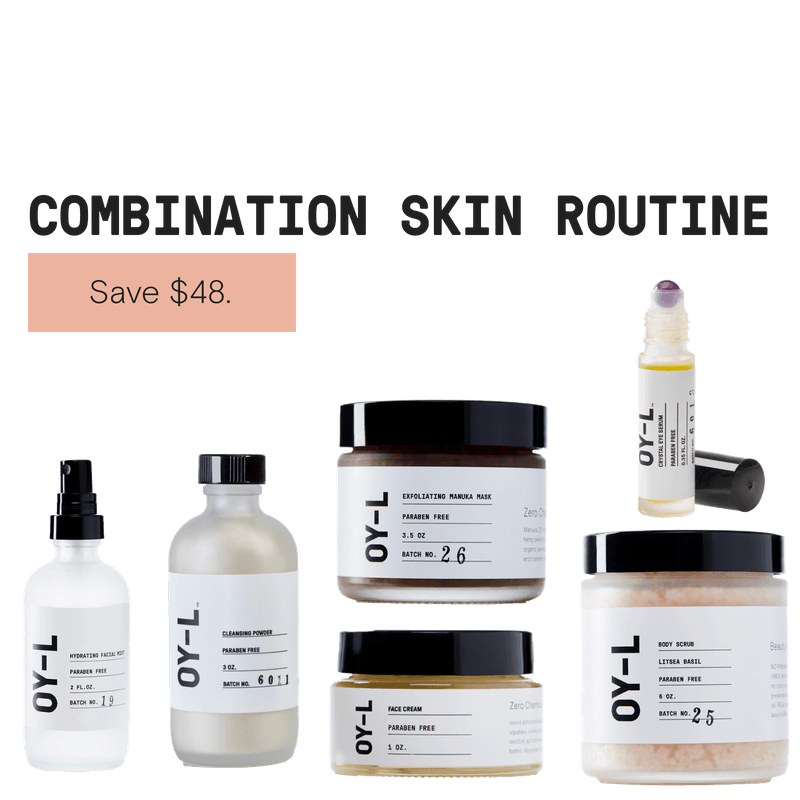 Combination Skin Routine by OY-L Natural Skincare