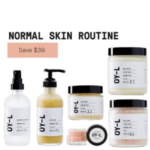 Normal Skin Routine by OY-L Natural Skincare